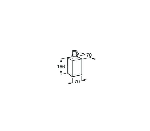 Dosificador de encimera - ICE - Roca