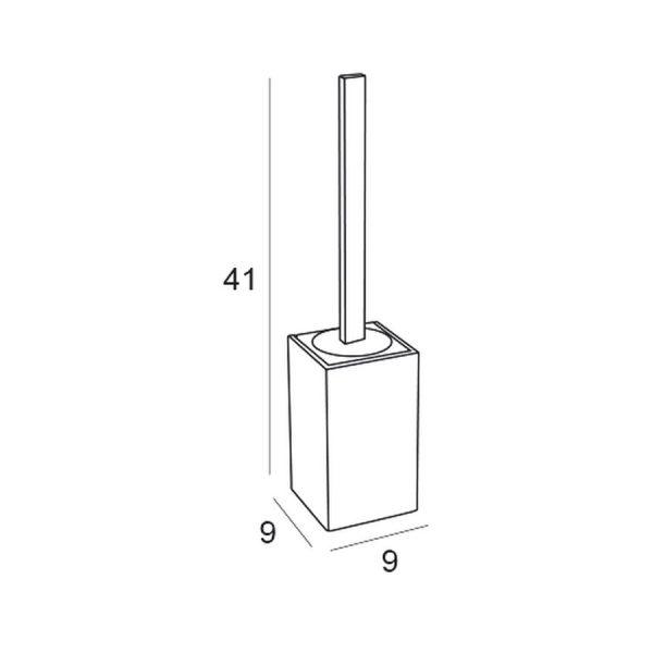 Conjunto complementos cromo - madera/blanco/negro-Manillons Torrent