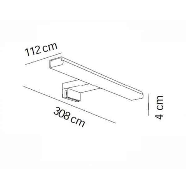 Aplique de luz LED - 7659 - Manillons Torrent