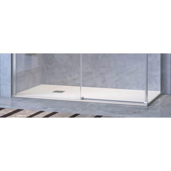 Frente de ducha fijo + puerta corredera - Luna - Kassandra