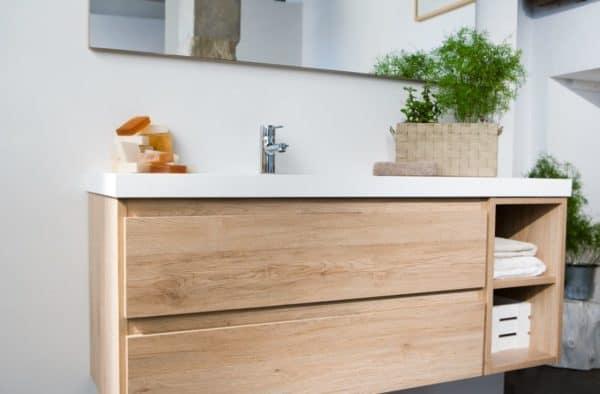 Mueble de baño Life con lavabo gel coat - Baños10