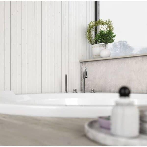 Bañera encastrada - Bravatta - Baños10