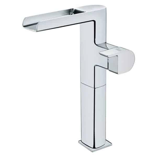 Monomando de lavabo caño alto cascada - Formentera - Teka