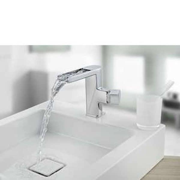 Monomando lavabo cascada abierto - Formentera - Teka