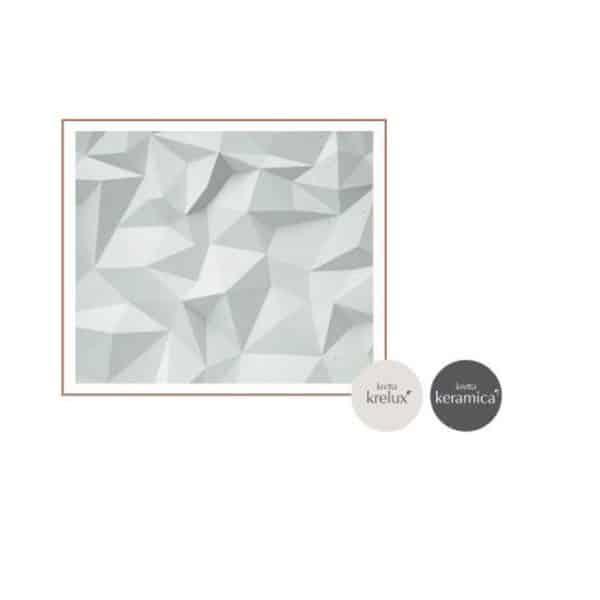Revestimiento textura cerámica brillo - Tiles Delphi bath - Kretta