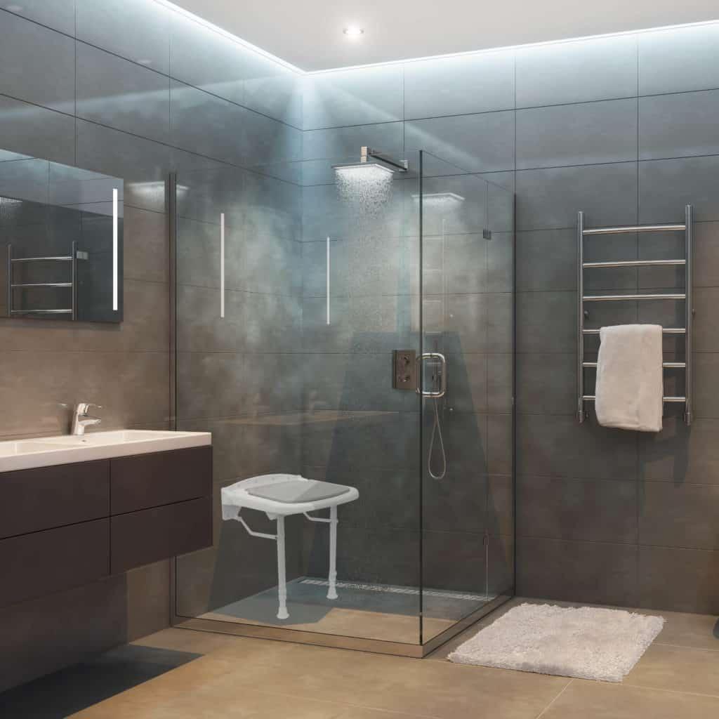 asiento plegable de ducha de manillons torrent