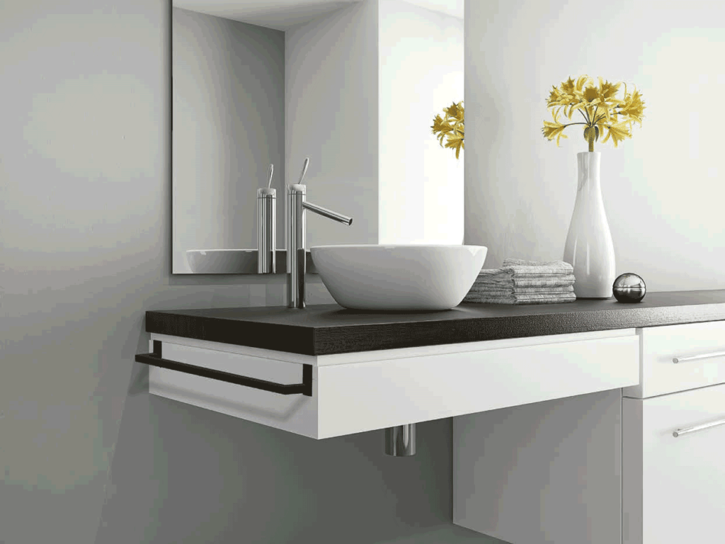 toallero de barra para mueble de manillons torrent