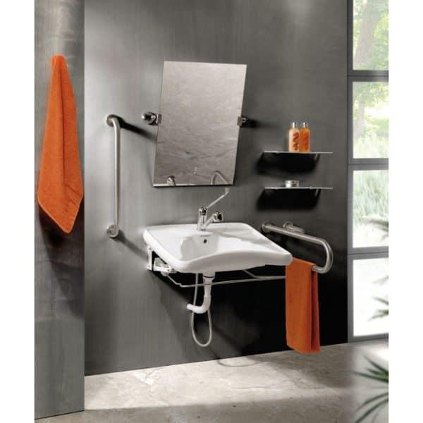 Espejo reclinable - inox 240 - Presto Equip