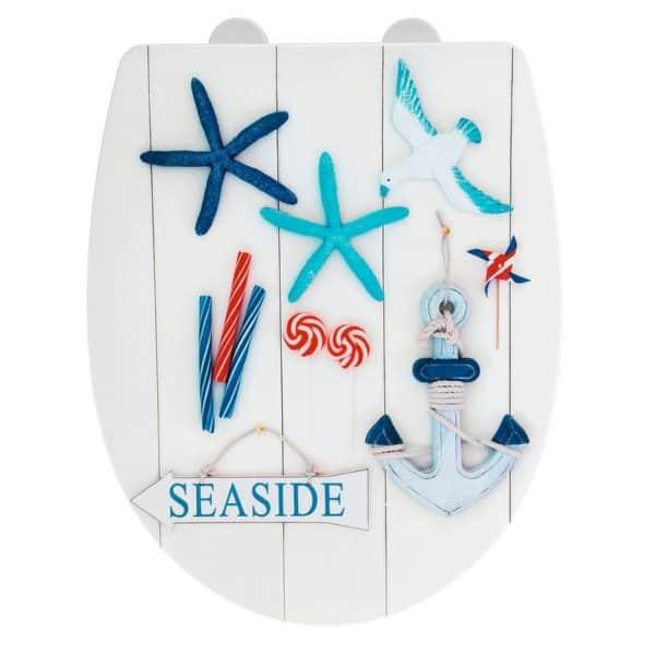 Tapa de WC Seaside - Wenko