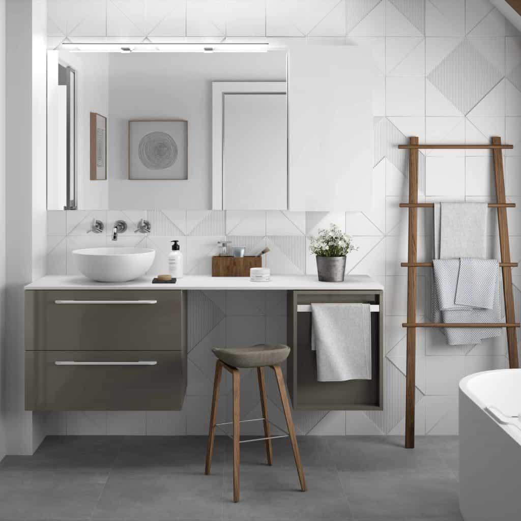 Solid Surface, el material estrella para el cuarto de baño ...