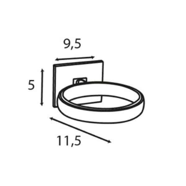 Soporte para Secador - Luk - Baño Diseño