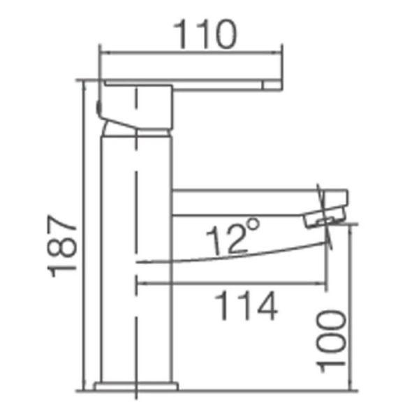 Grifo de lavabo - Roma - Imex products