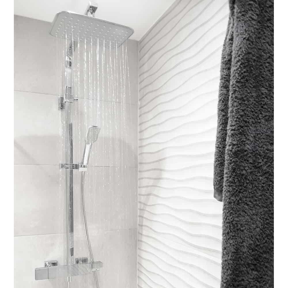 Conjunto ducha termostático extensible Nine Xtreme de Grifería Clever