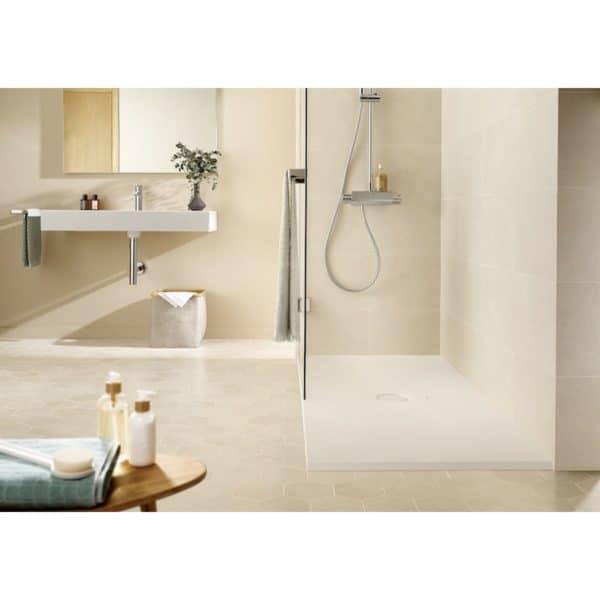 Plato de ducha extraplano de SENCERAMIC® - Cratos - Roca