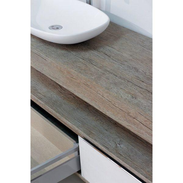 Conjunto encimera con mueble bajo y lavabo de diseño - Stockholm - Taberner