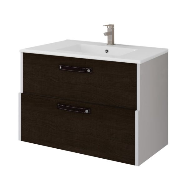 Conjunto mueble + lavabo + espejo 80cm - Country - Bathforte