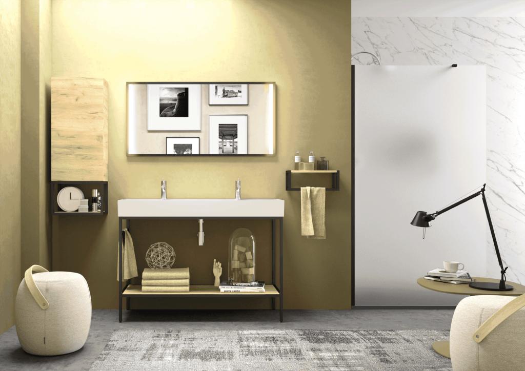 Cuarto de baño de estilo industrial | Banium.com
