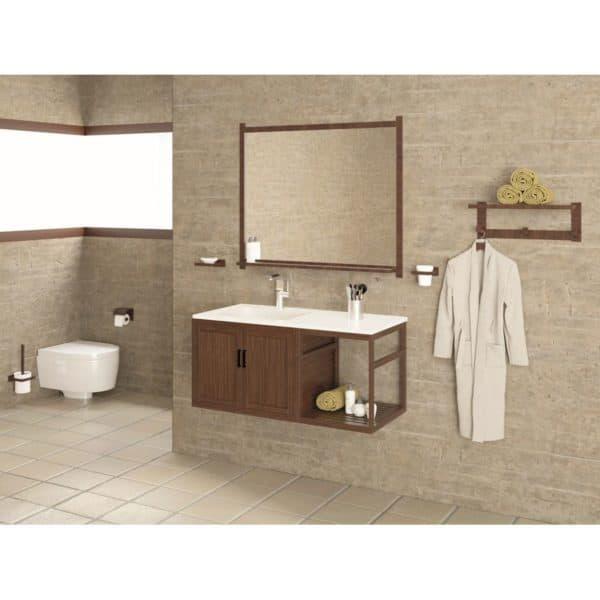 Conjunto mueble + lavabo + espejo 100 cm - Venecia - Bathforte