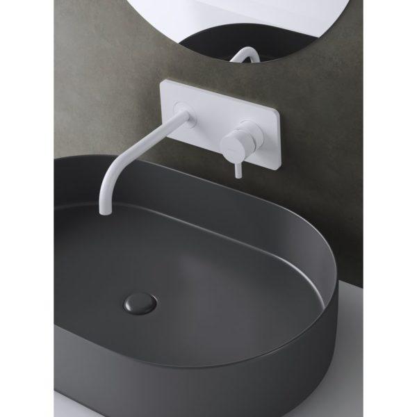 Monomando lavabo placa empotrado sistema Eco-Green - Minimal - Martelli