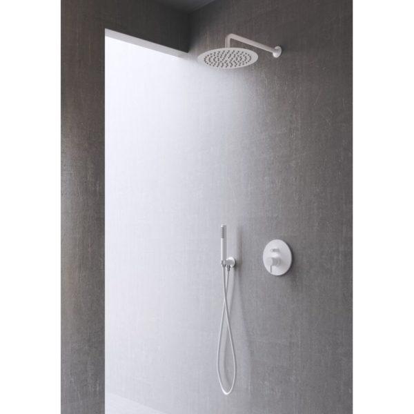 Conjunto de ducha empotrado 2 vías sistema Eco-Green – Minimal – Martelli
