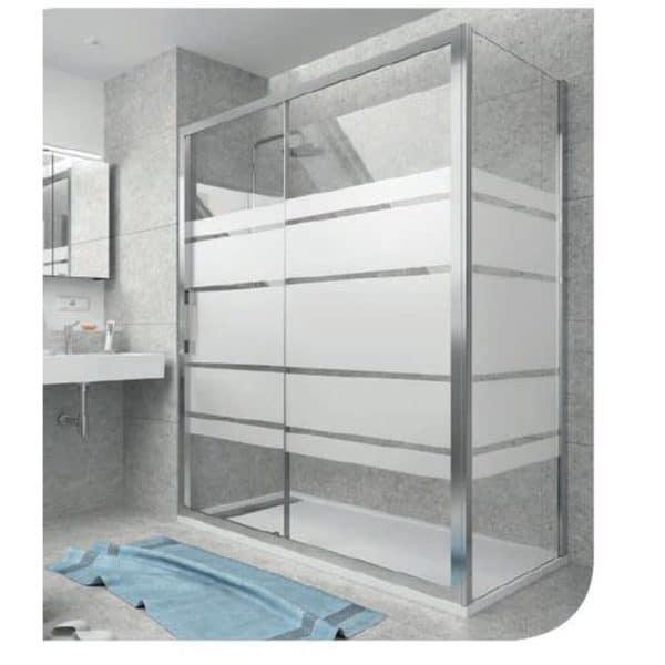 Frontal de ducha fijo + corredera - Clear - Salgar