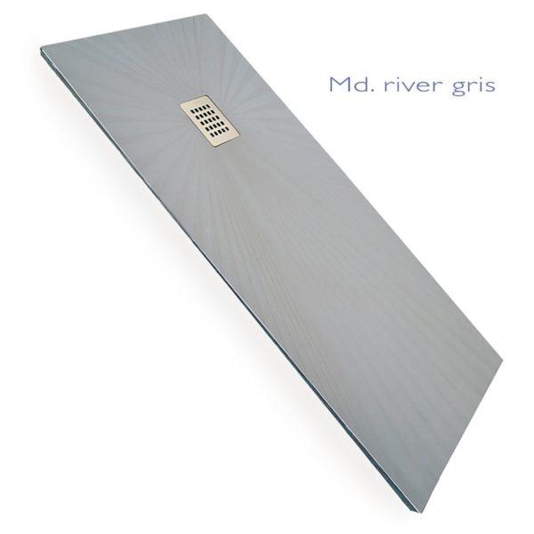 Plato de mármol compacto - River - Decorban