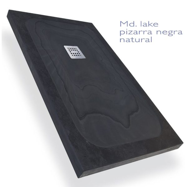 Platos de pizarra natural - Lake y River - Decorban