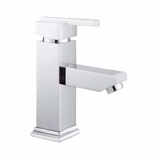 Grifo de lavabo cromado Saona - 96022 - Clever