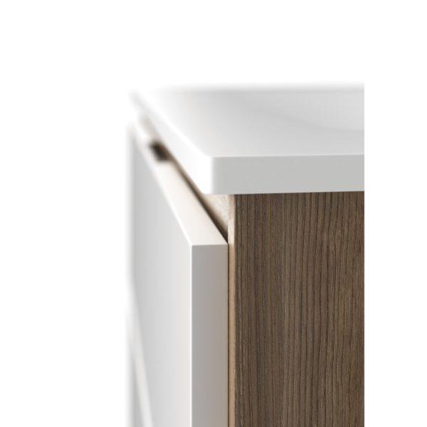 Conjunto mueble life con lavabo de porcelana Shine - Life - Baños10