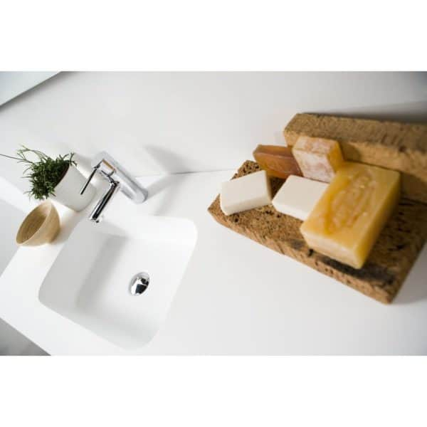 Encimera Gel Coat Quadra Life estándar - Baños10
