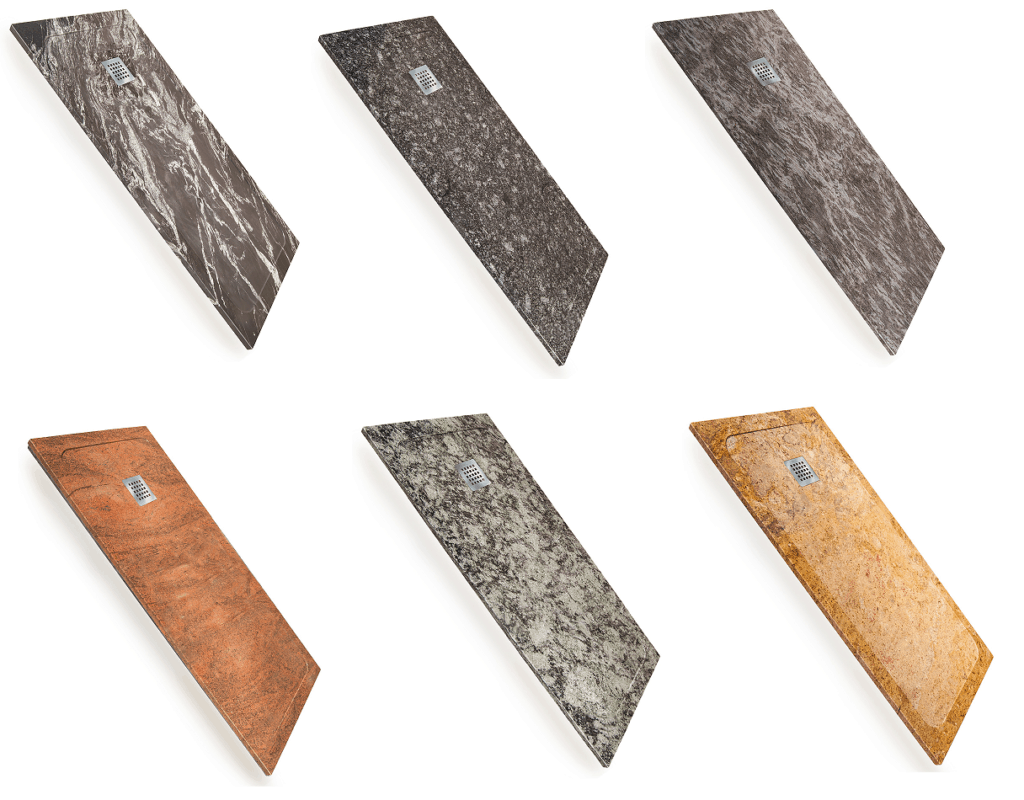 Platos de ducha de granito natural de Decorban