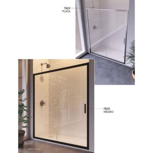 Frente de ducha fijo + puerta corredera - Tíber - Anna Bagno