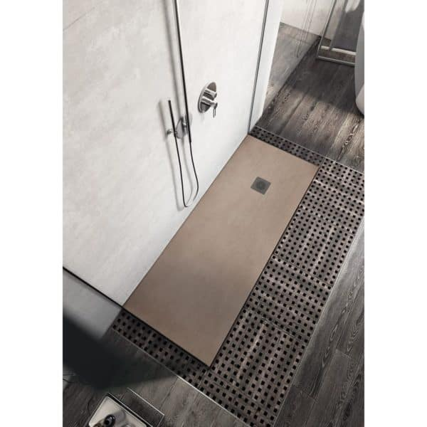 Plato de ducha resina efecto madera - Forest - Baños10