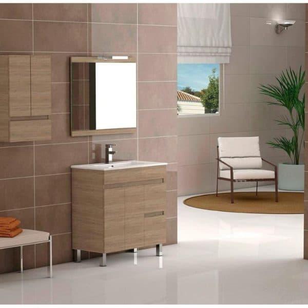 Conjunto mueble y lavabo incluido 100 cm - Nilo - Cambrián - Futurbaño