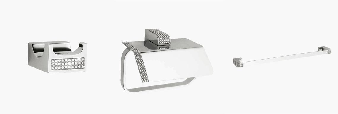 Accesorios de la serie Diamond de Sanibaño