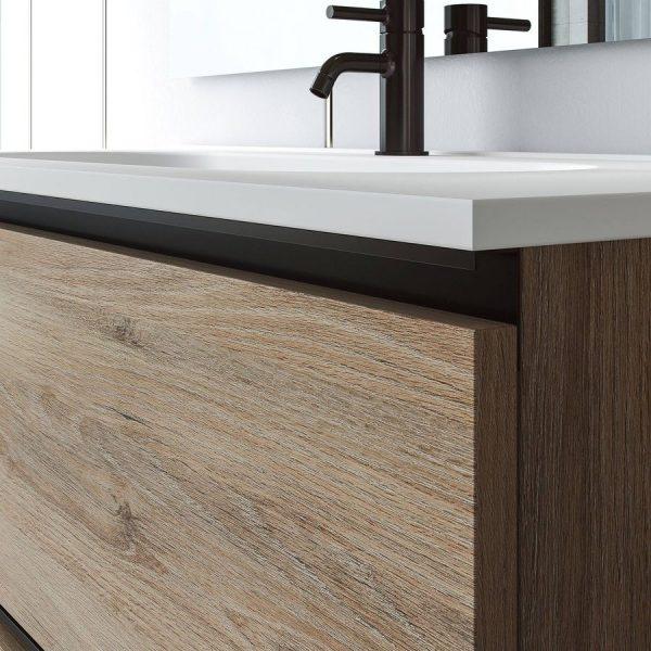Conjunto mueble de baño + lavabo - Granada - Visobath