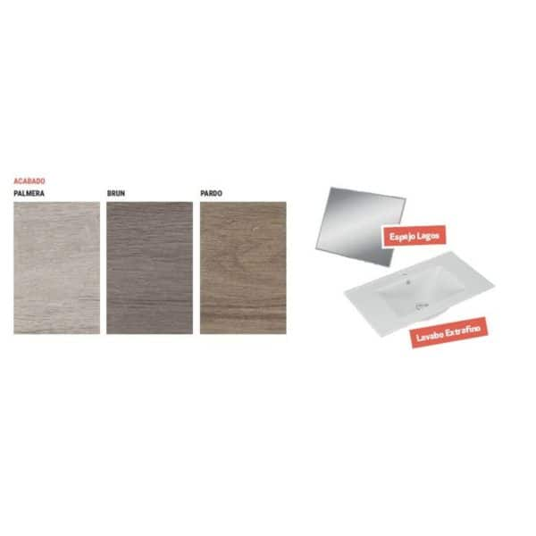 Conjunto completo mueble - Segos - Torvisco Group