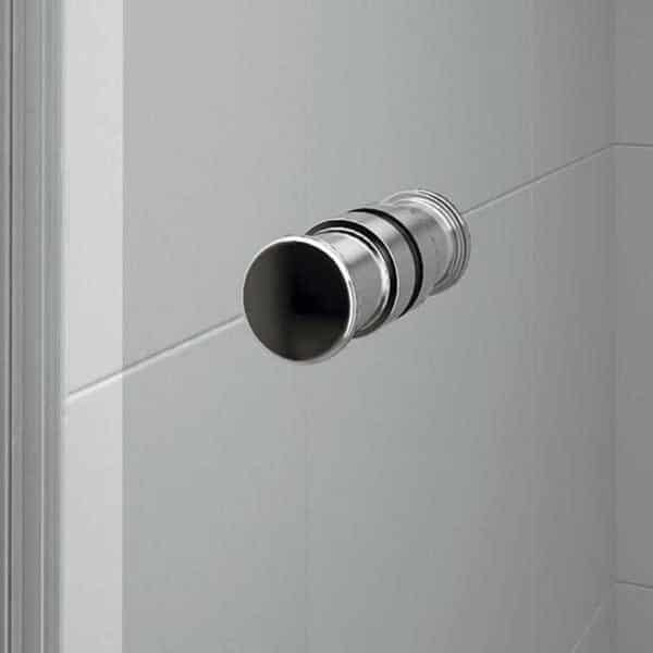 Mampara frontal de ducha 1 fijo + 1 puerta corredera - Plus Evolution - Duscholux