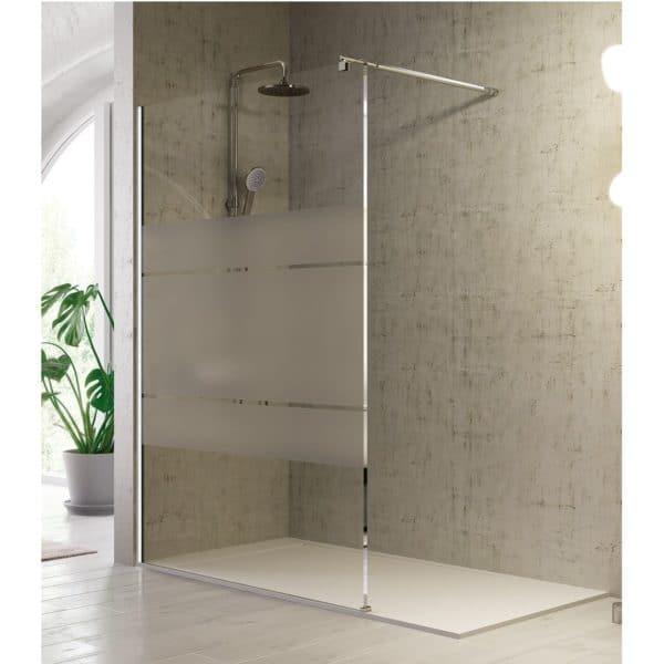 Panel fijo de ducha hasta 120 cm - Fresh - Kassandra