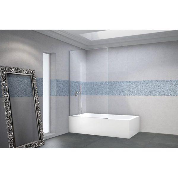 Mampara separador fijo de bañera - D3 - Duscholux