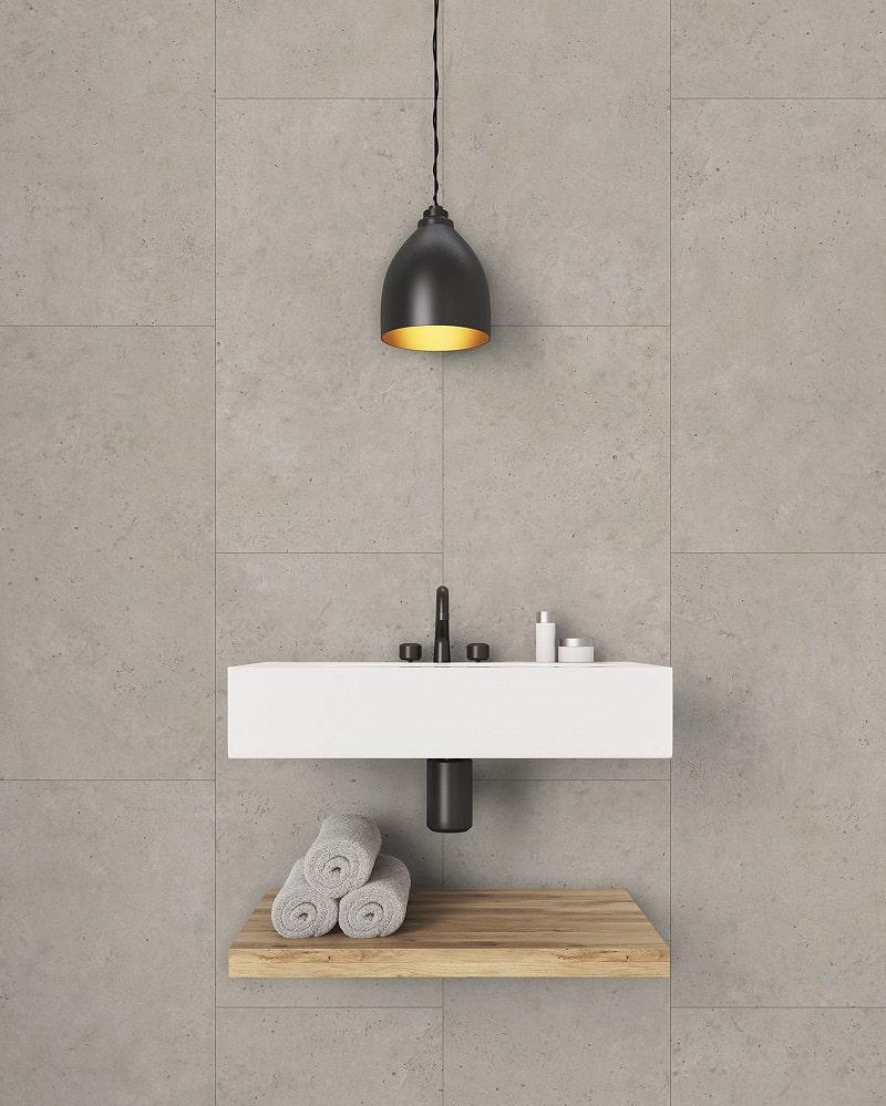 Revestimiento GX Wall+ modelo Concrete beige