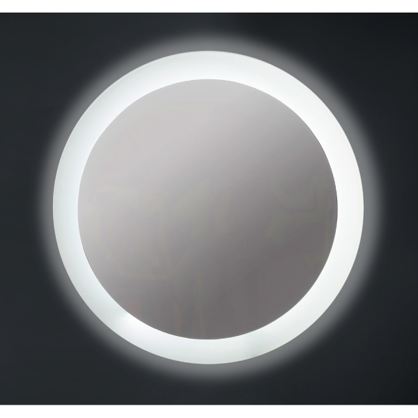 Espejo con luz retroiluminada perimetral y frontal - Willow - Bathdecor