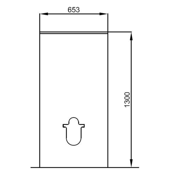 Cubre Cisterna WC - Salgar