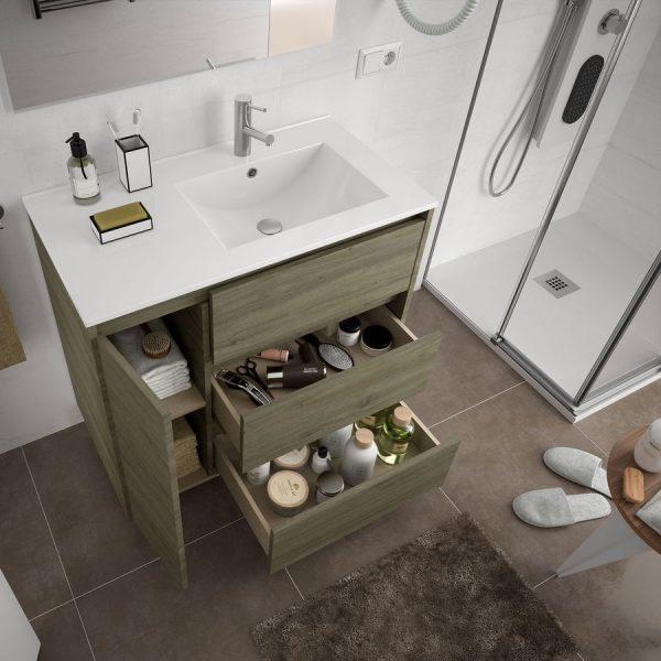 Mueble y lavabo - Arenys 855 izquierda - Salgar