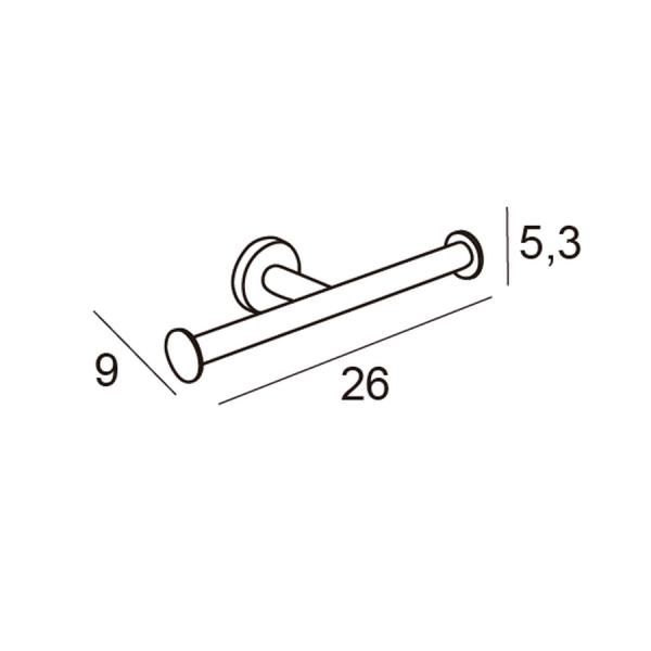 Portarrollos doble - Eco - Manillons Torrent