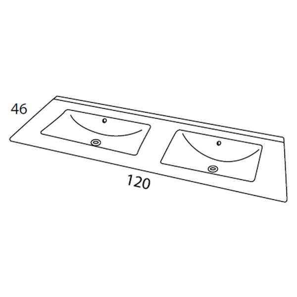 Conjunto Noa de 120 cm - Noa - Futurbaño