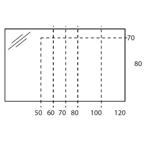 Conjunto 2 módulos 60 cm - Noa - Futurbaño