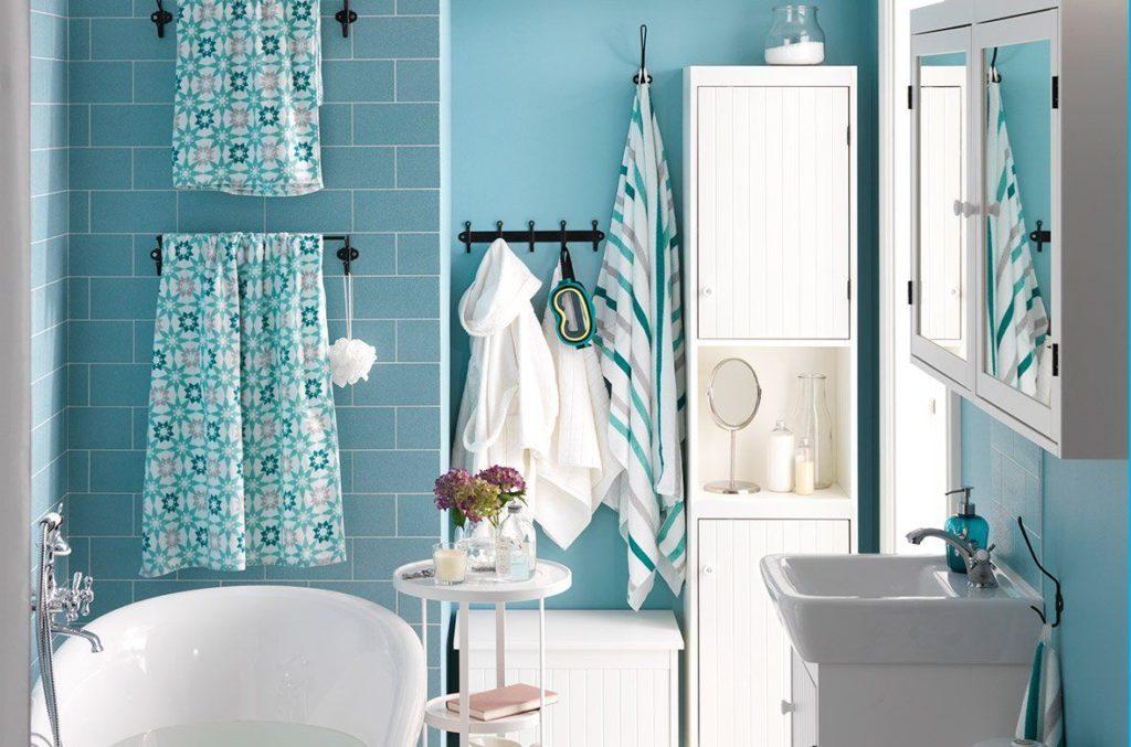 Baños con inspiración primaveral