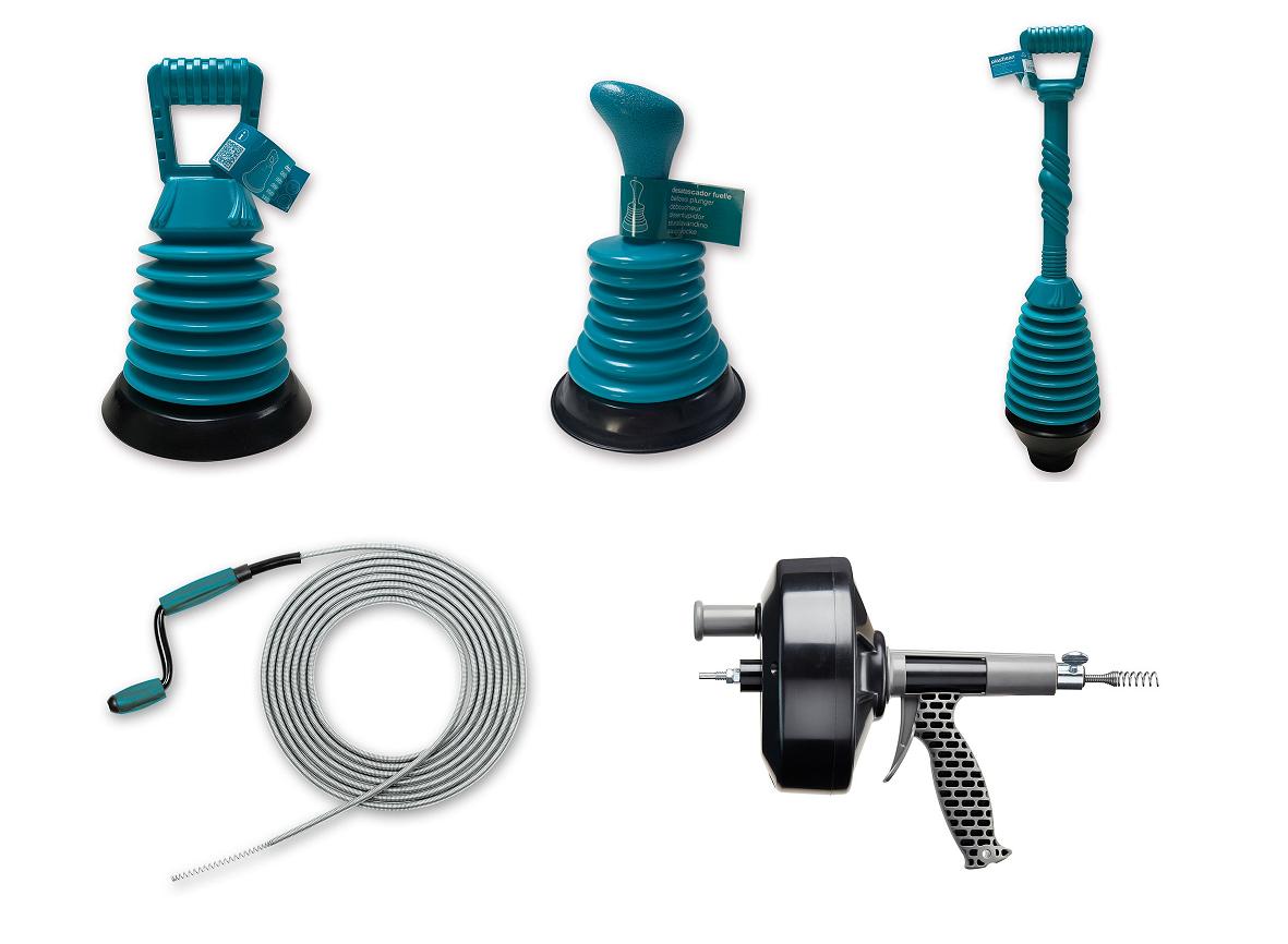 Tipos de desatascadores para el cuarto de baño | Banium.com