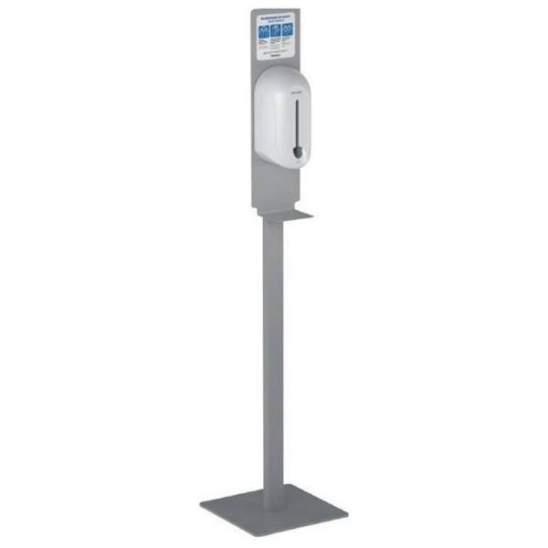 Dosificador de gel hidroalcohólico automático 1100 ml con peana - Reforclima